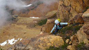 Twin Sisters Alpine Rock Climbing