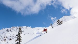 Twin Sisters Backcountry Skiing